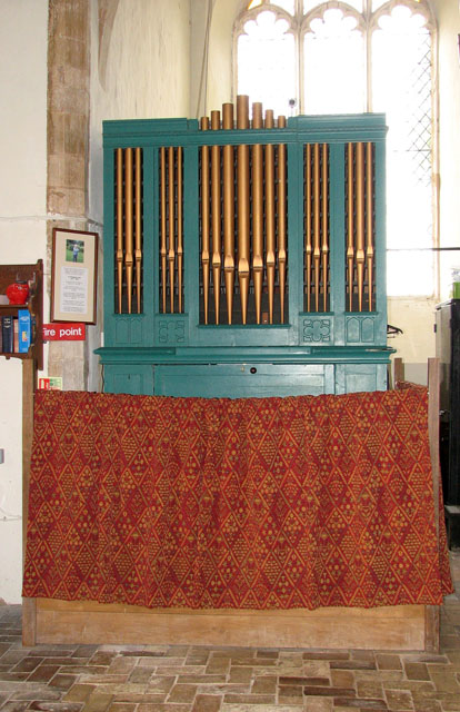 All Saints church - the organ