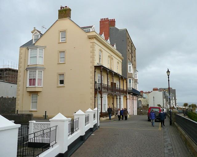 Houses, Paragon, Tenby