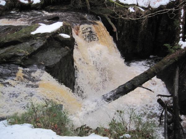 Fourth Waterfall on the Hareshaw Burn