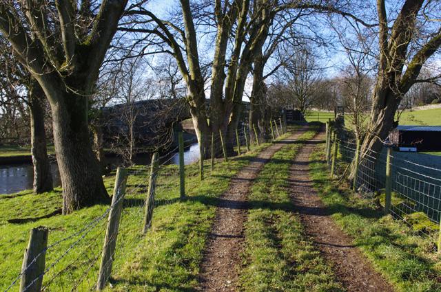 Farm track, Borwick