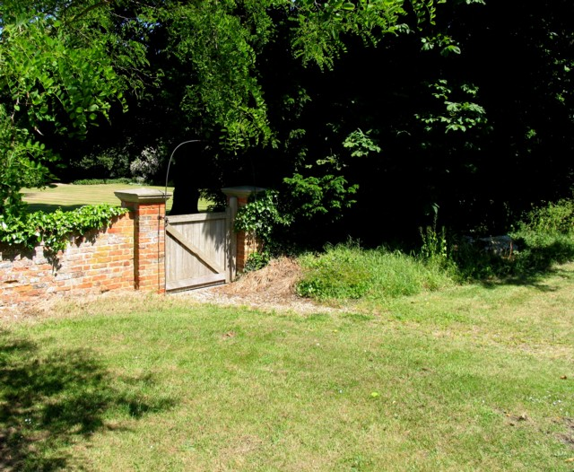Gate to the old Rectory