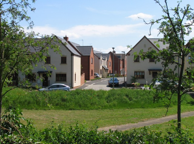Houses on Oxenhope Way Broughton