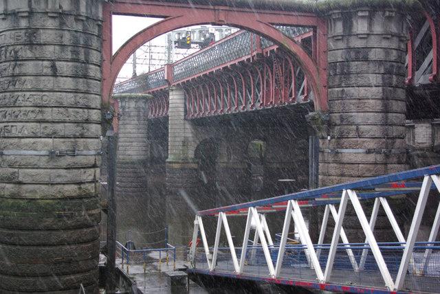 Central railway bridge, Glasgow
