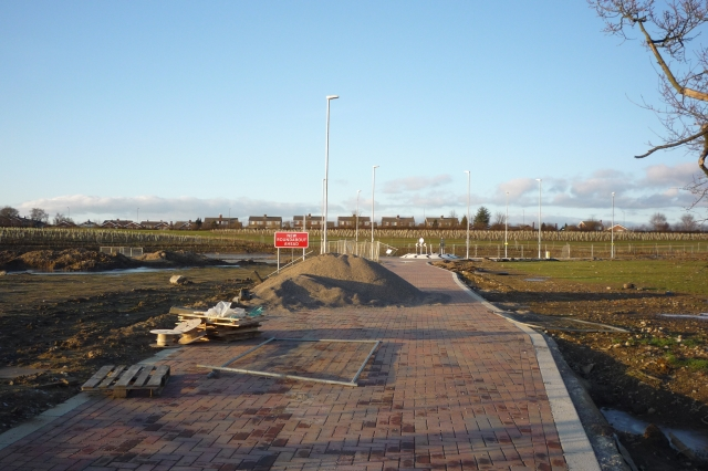 New roundabout and Badger Hill