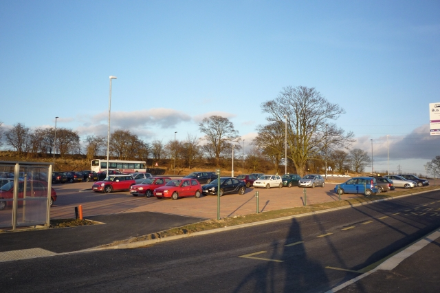 Goodricke car park and bus stops