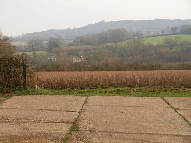 Farms below the Blackdown Hills