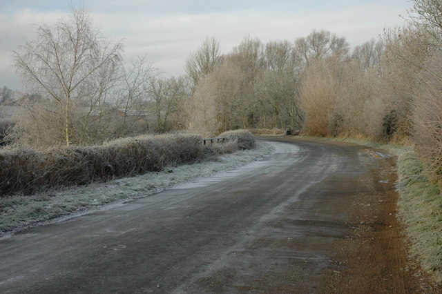 The old road into Upton-upon-Severn