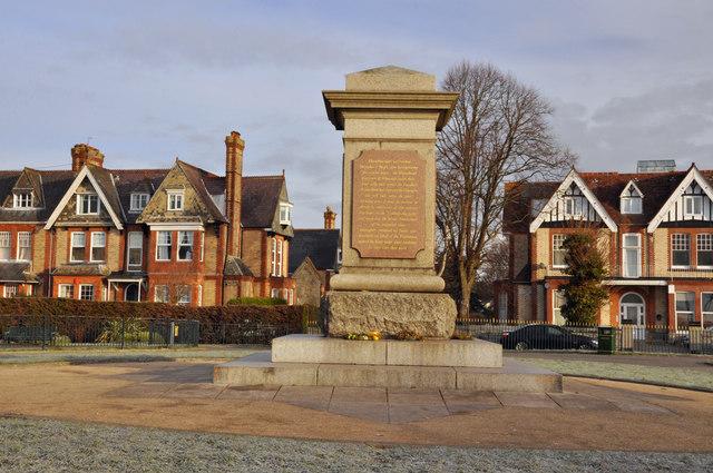 Civil War Memorial, Freedom Fields - Plymouth