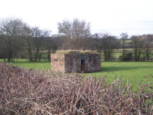 Pill Box near River Eden
