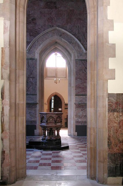 St James the Less, Sussex Gardens, London W2 - Baptistry