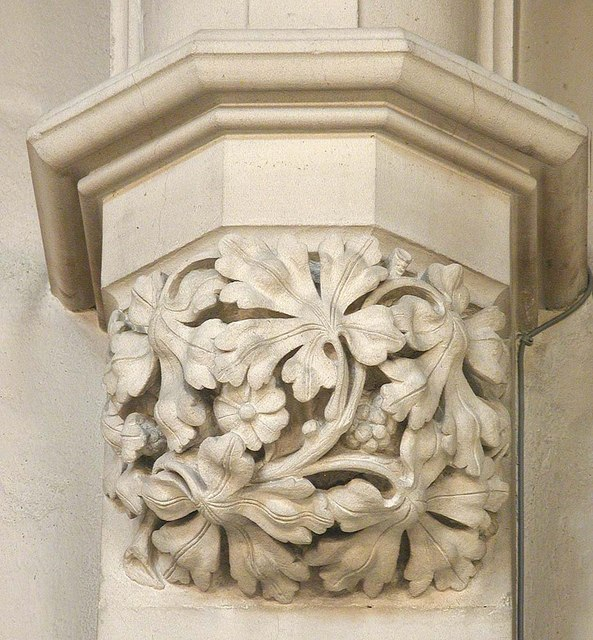 St James the Less, Sussex Gardens, London W2 - Corbel