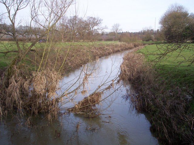 River Eden flowing from Chiddingstone