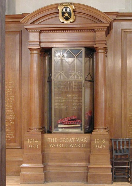 St James the Less, Sussex Gardens, London W2 - Memorial WWI & WWII