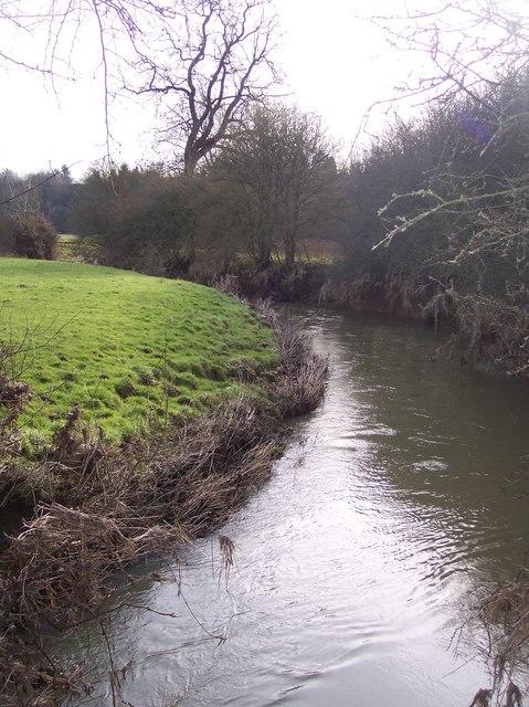 River Eden flowing towards Penshurst