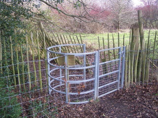 Kissing Gate near Harden Cottage