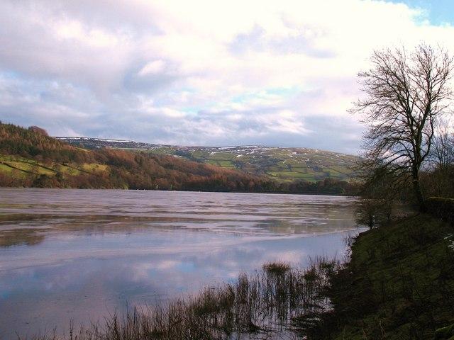 Winter view, Gouthwaite