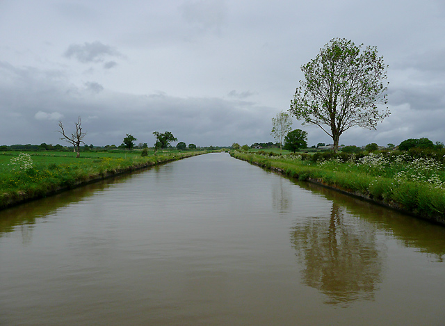Shropshire Union Canal south of Nantwich, Cheshire