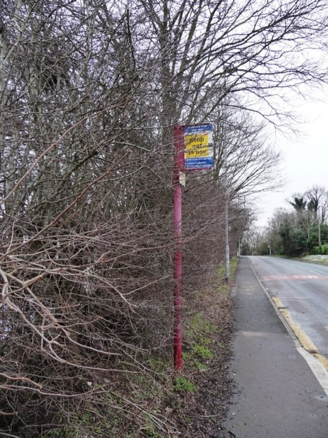 Disused bus stop on Pontefract Road