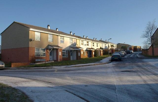 Houses on Pendennis Road, Hele