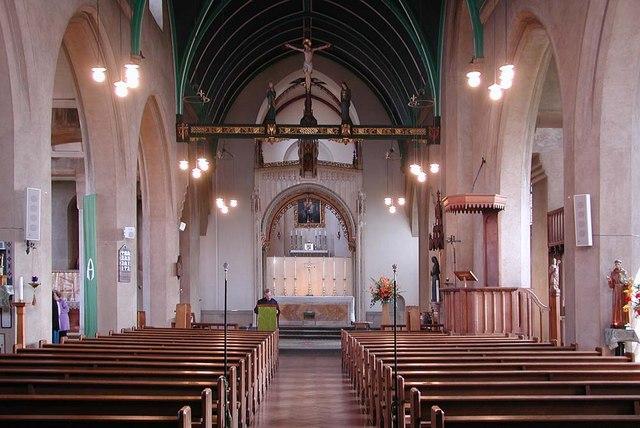 St Mary, Kenton Road, Harrow - East end
