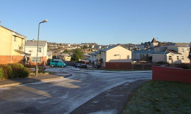 Corfe Crescent, Hele