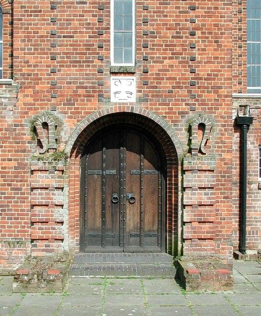 All Saints, Waltham Drive, Edgware - Doorway