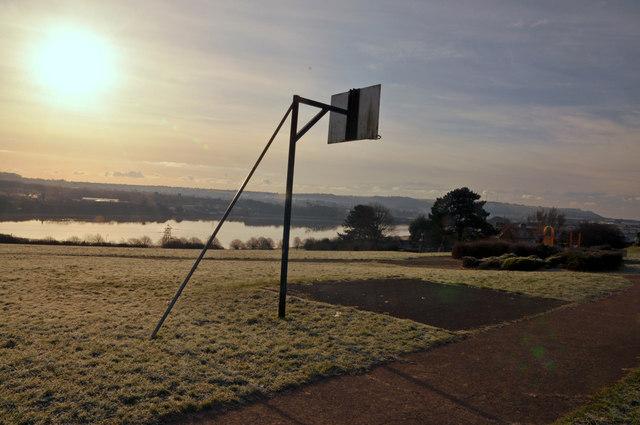 Basket ball plinth, Mount Gould Park - Plymouth