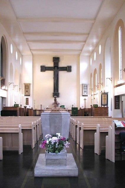 All Saints, Waltham Drive, Edgware - East end