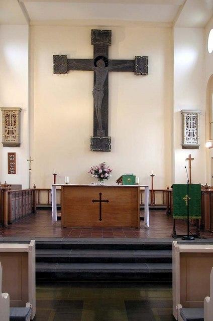 All Saints, Waltham Drive, Edgware - Chancel