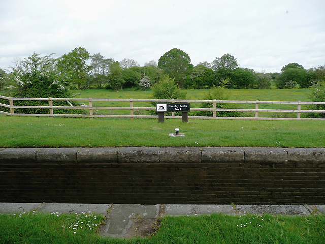 Swanley Lock No 1 near Burland, Cheshire