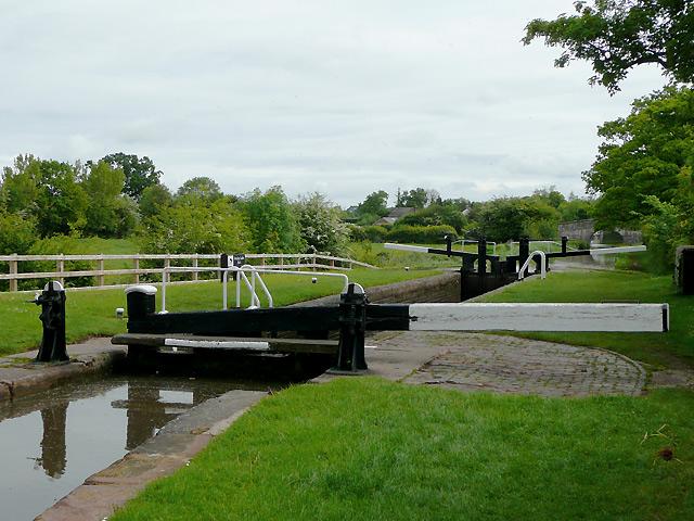 Swanley Lock No 1 near Burland, Cheshire