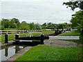 SJ6152 : Swanley Lock No 1 near Burland, Cheshire by Roger  Kidd