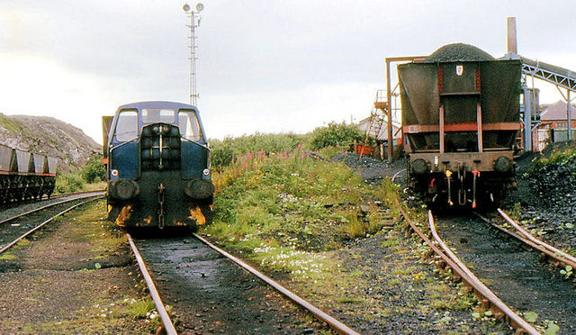 Railway, Waterside coal mine, Ayrshire