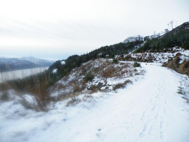Great Glen Ways winding down to Alltsigh