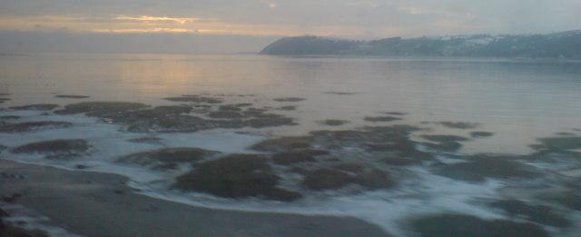 Ferryside beach
