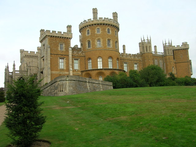 Belvoir Castle - Rear View