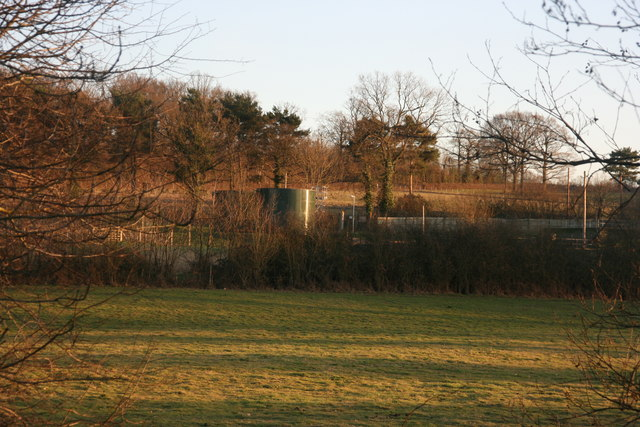Sewage Works from the Forest Way