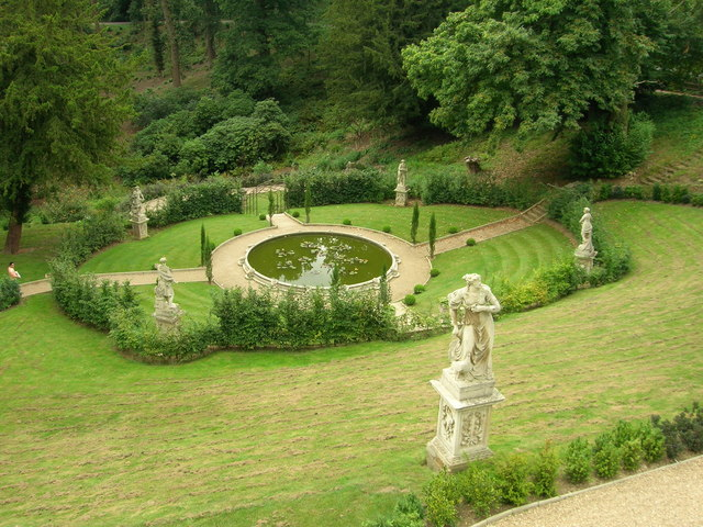 Belvoir Castle - Ornamental Pond