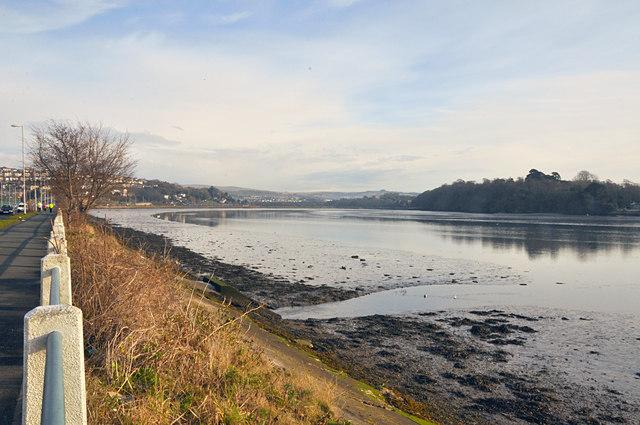 The Plym estuary - Plymouth