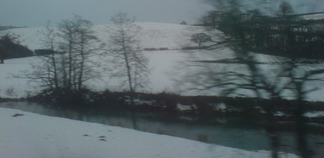 Snow clad hills