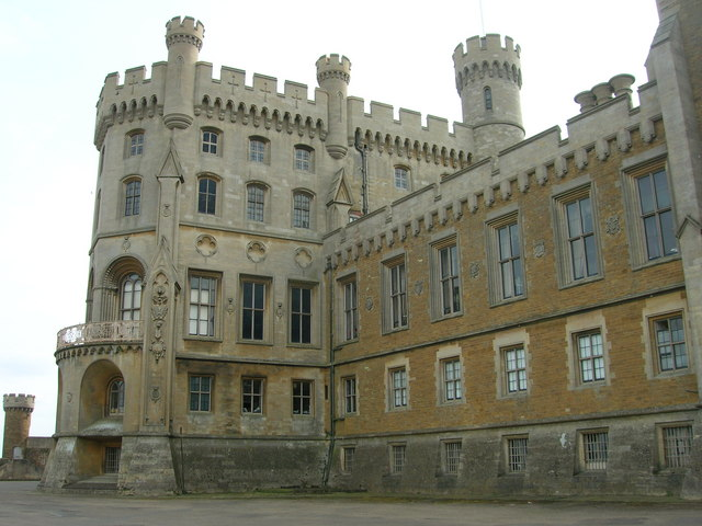 Belvoir Castle - Front View