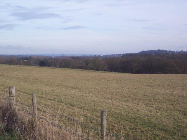 View from Eden Valley Walk towards Tonbridge