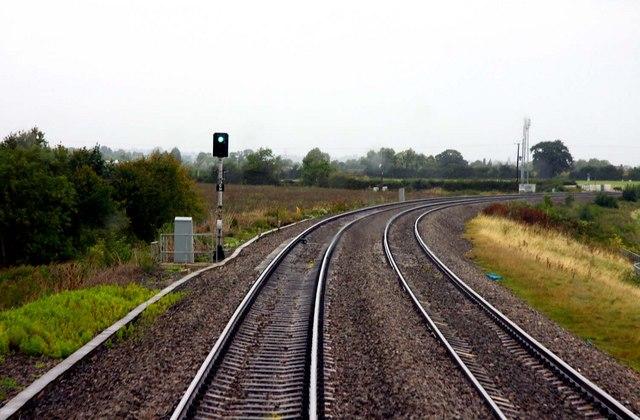 Approaching Tredington Level Crossing