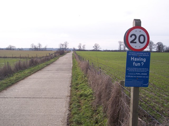 National Cycle Network Route 12 to Penshurst
