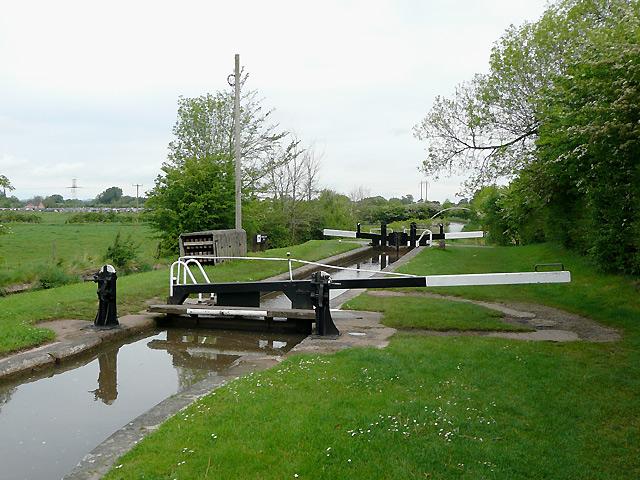 Swanley Lock No 2 near Burland, Cheshire