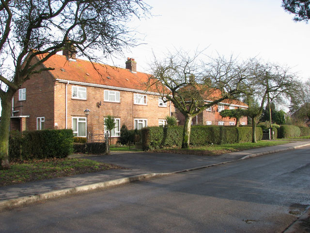 Houses in Mill Road