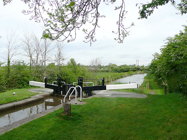 Swanley Lock No 2 near Burland, Cheshire