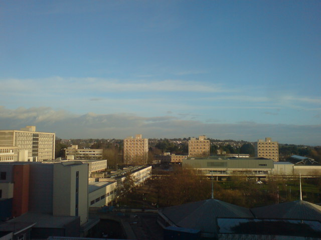 From the 7th floor of the Heath Hospital