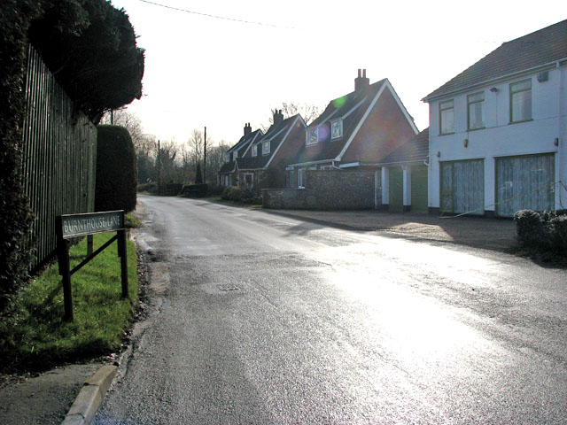 Cottages in Burnthouse Lane