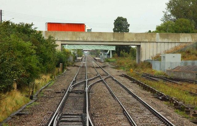 The A46 bridge at Ashchurch